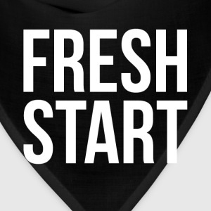 FRESH START NEW BEGINNING Tanks - Bandana