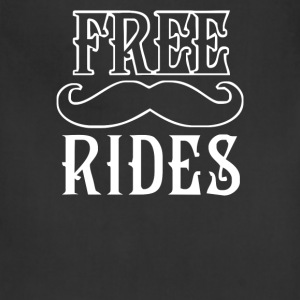 Free Mustache Rides - Adjustable Apron