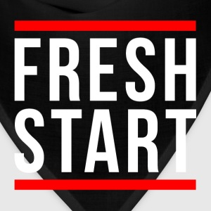 FRESH START NEW BEGINNING T-Shirts - Bandana