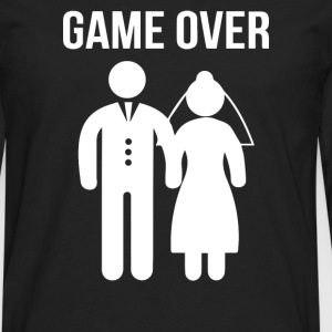 Game Over Funny - Men's Premium Long Sleeve T-Shirt