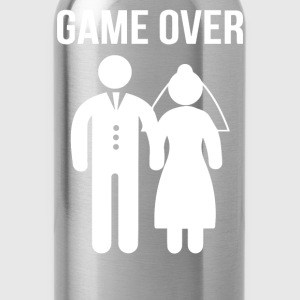 Game Over Funny - Water Bottle