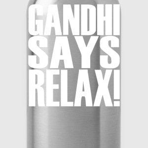 GANDHI SAYS RELAX! - Water Bottle