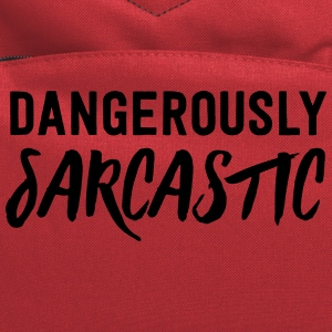 Dangerously Sarcastic T-Shirts - Computer Backpack