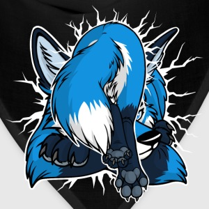 STUCK Blue Fox (front/back) - Bandana