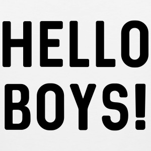 Hello Boys! T-Shirts - Men's Premium Tank