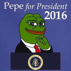 Pepe for President  - Adjustable Apron