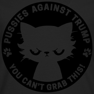 Pussies against Trump - Men's Premium Long Sleeve T-Shirt