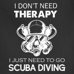 Scuba Diving Therapy Tee - Adjustable Apron