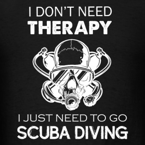 Scuba Diving Therapy Tee - Men's T-Shirt