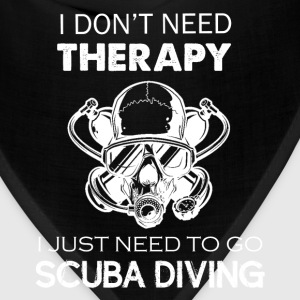 Scuba Diving Therapy Tee - Bandana