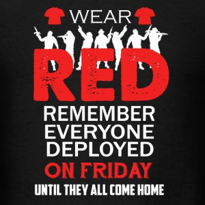 Wear Red On Friday Shirt - Men's T-Shirt