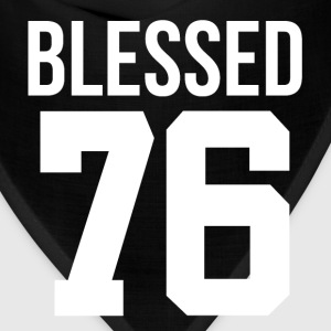 40th Birthday Gift Blessed 1976 Thanksgiving T-Shirts - Bandana