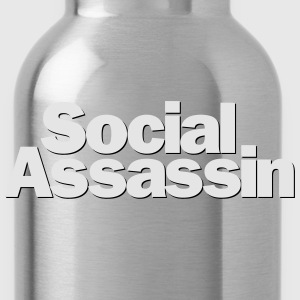 Social Assassin - Water Bottle