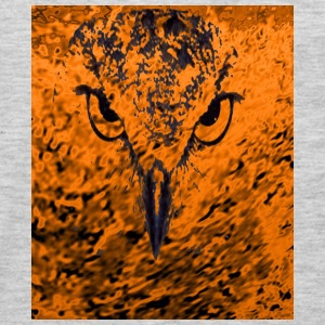 bird in fire - Men's Premium Long Sleeve T-Shirt