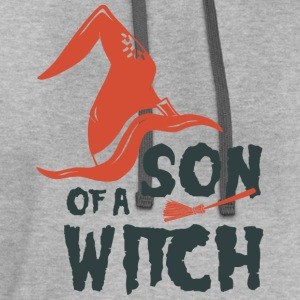 Son Of a Witch T-Shirts - Contrast Hoodie
