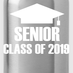 SENIOR 2019B.png T-Shirts - Water Bottle