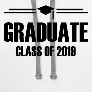 GRADUATE CLASS OF 20191.png T-Shirts - Contrast Hoodie