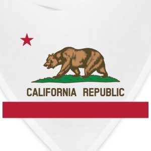 California Flag Bear - Bandana