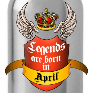 Legends April T-Shirts - Water Bottle
