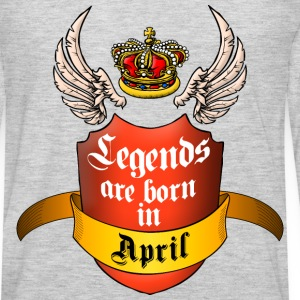Legends April T-Shirts - Men's Premium Long Sleeve T-Shirt