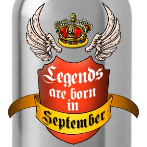 Legends September T-Shirts - Water Bottle