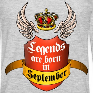 Legends September T-Shirts - Men's Premium Long Sleeve T-Shirt