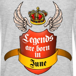 Legends June T-Shirts - Men's Premium Long Sleeve T-Shirt