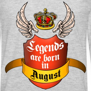 Legends August T-Shirts - Men's Premium Long Sleeve T-Shirt