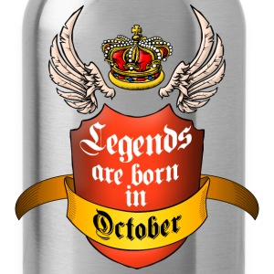 Legends October T-Shirts - Water Bottle
