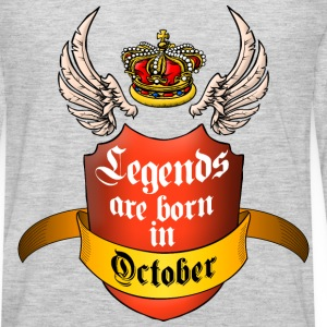 Legends October T-Shirts - Men's Premium Long Sleeve T-Shirt
