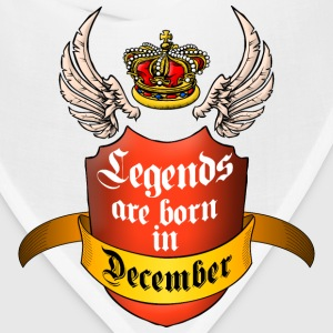 Legends December T-Shirts - Bandana