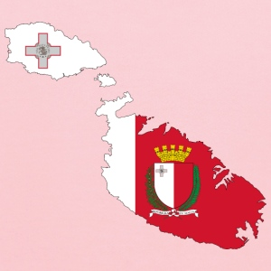 Malta Map Flag With Coat Of Arms - Kids' Hoodie