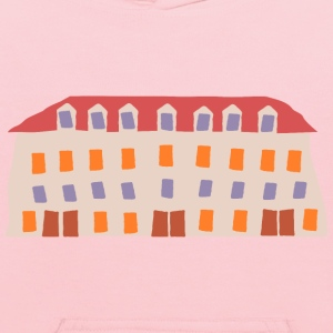 crooked shopping mall - Kids' Hoodie