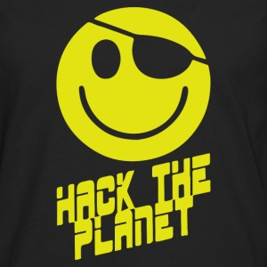Hack the Planet - Men's Premium Long Sleeve T-Shirt