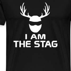 I Am The Stag Stag Night Hen Wedding - Men's Premium T-Shirt