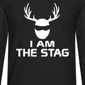 I Am The Stag Stag Night Hen Wedding - Men's Premium Long Sleeve T-Shirt