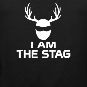 I Am The Stag Stag Night Hen Wedding - Men's Premium Tank