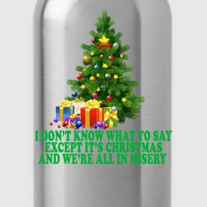 christmas_vacation_misery_ - Water Bottle