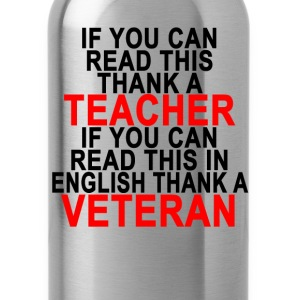 if_you_can_read_this_thank_a_teacher_if_ - Water Bottle