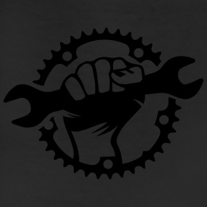 Bike Hero chainring bicycle bike cycling spanner T-Shirts - Leggings