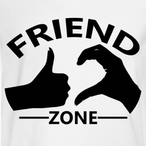 Friendzone Logo Official - Men's Long Sleeve T-Shirt