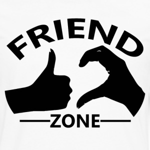 Friendzone Logo Official - Men's Premium Long Sleeve T-Shirt
