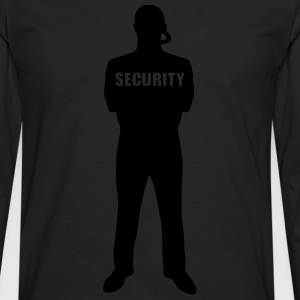 Security T-Shirts - Men's Premium Long Sleeve T-Shirt