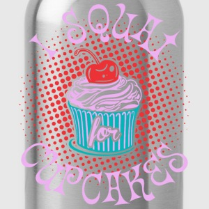 I Squat For Cupcakes T-Shirts - Water Bottle