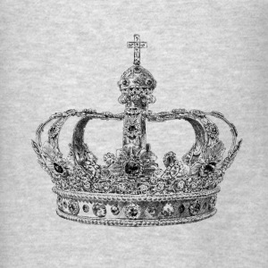Crown Hoodies - Men's T-Shirt