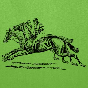 Horse racing - Tote Bag