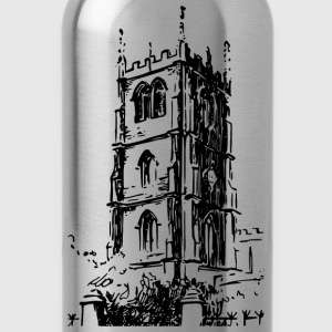 Church tower - Water Bottle