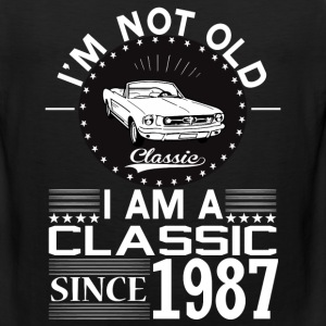 Classic since 1987 T-Shirts - Men's Premium Tank