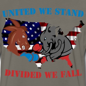United We Stand - Divided We Fall - Men's Premium Long Sleeve T-Shirt
