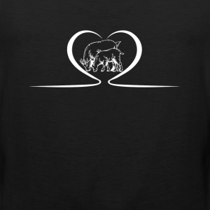 Goat Heart Shirts - Men's Premium Tank